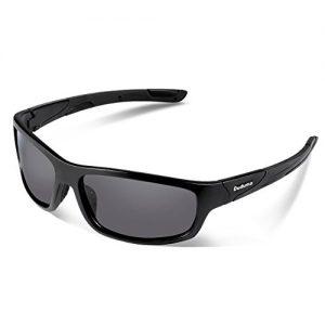 c7be196d24d Duduma Polarized Sports Sunglasses for Men Women Baseball Running Cycling  Fishing Driving Golf Softball Hiking Sunglasses Unbreakable Frame Du645