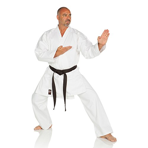 Ronin Karate Gi – Lightweight Student Karate Uniform – Professional quality made Kimono – Advanced 100% Cotton Martial Arts Kit style Karate Training for Adults & Kids.