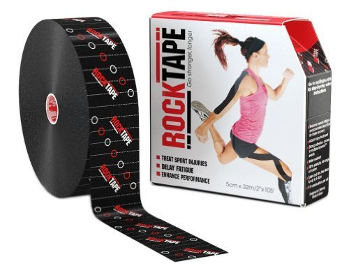 RockTape Uncut BULK Kinesiology Tape For Athletes – 2″ X 105′ Roll – Clinical Pattern
